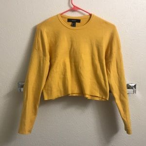 Forever 21 Yellow Sweater